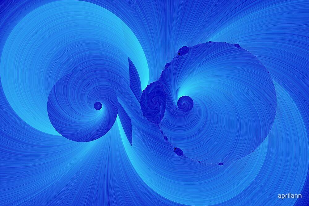 Blue Swirl by aprilann