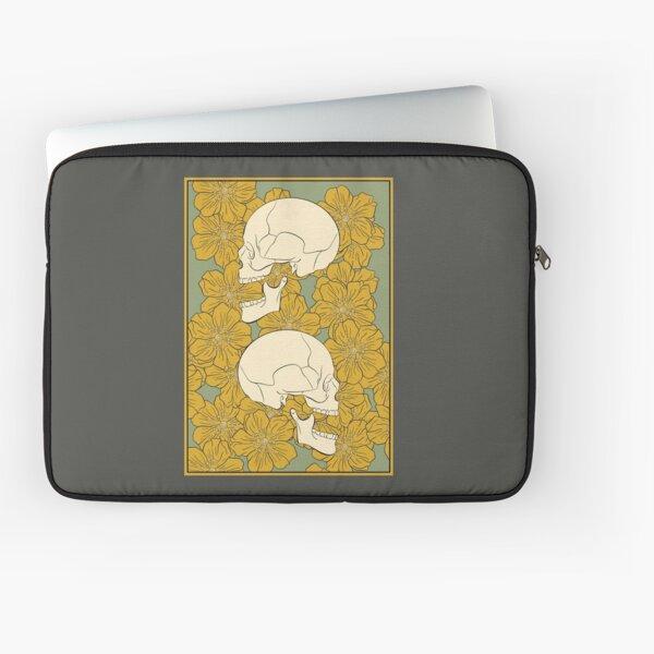Skull Profile Laptop Sleeve