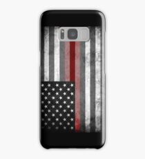 The Thin Red Line - American Firefighter Samsung Galaxy Case/Skin