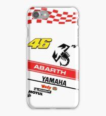 Yamaha M1 VR 46 Abarth iPhone Case/Skin