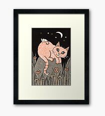Bubble and Squeak Framed Print