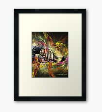Entrelaces, featured in Vavoom Framed Print