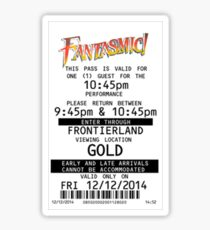 Fantasmic Fastpass Sticker