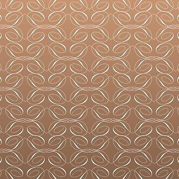 brown background with white design by newbietraveller