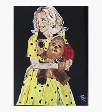 Blanche and Chewy Photographic Print
