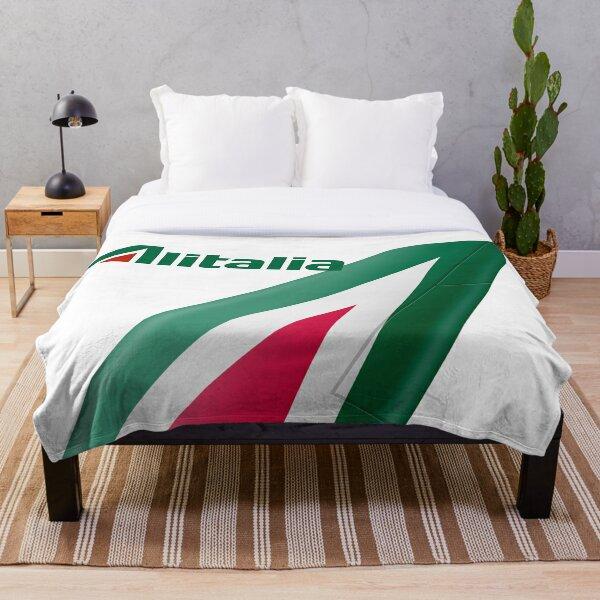 Alitalia Logo Throw Blanket