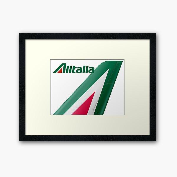 Alitalia Logo Framed Art Print