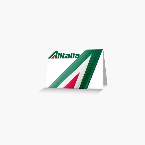 Alitalia Logo Greeting Card