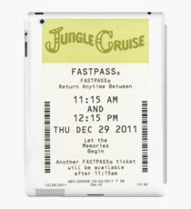 Jungle Cruise Fastpass iPad Case/Skin