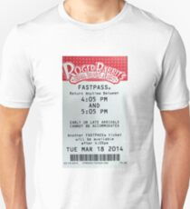 Roger Rabbit's Cartoon Spin Fastpass Unisex T-Shirt