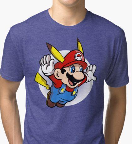 Super Pika Bros. Tri-blend T-Shirt