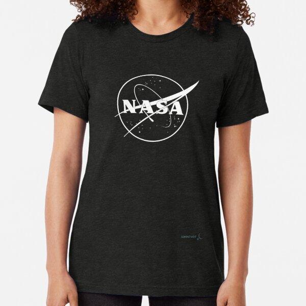 NASA Meatball | Logo Tri-blend T-Shirt