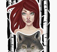 Inner Wolf  by Courtney Marie Art