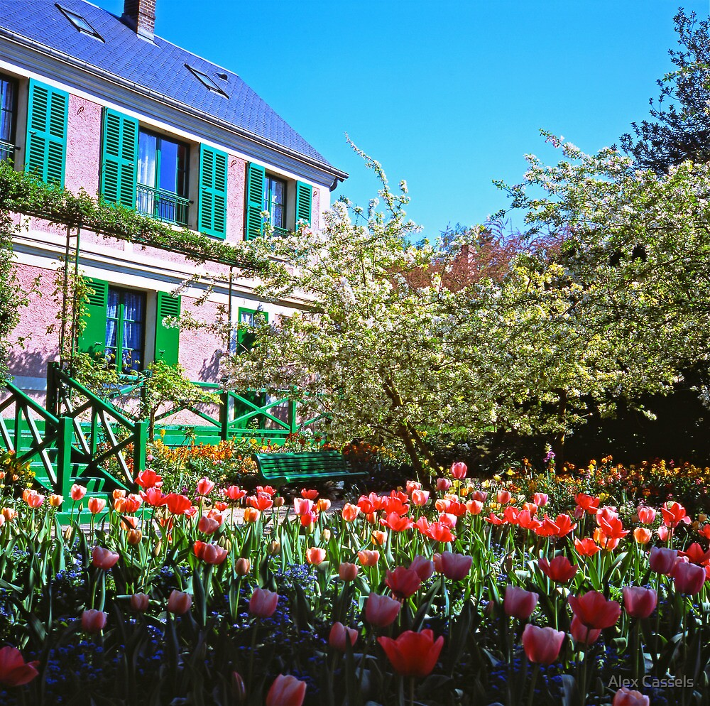 Claude Monet's House at Giverny by Alex Cassels