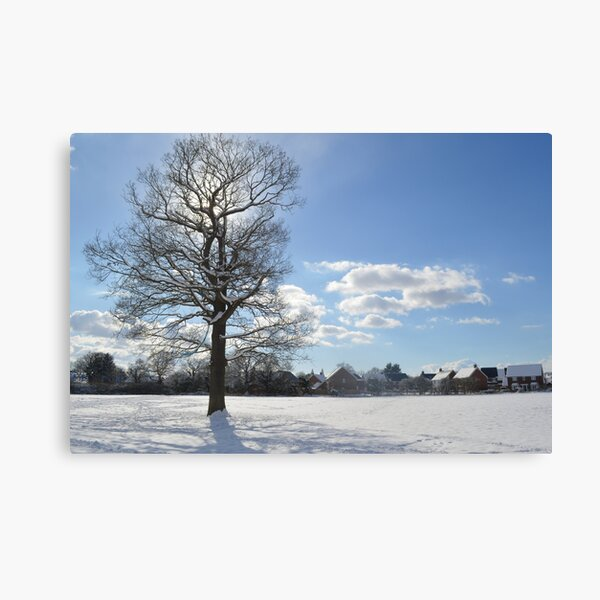 Winter view towards Hop Pocket Way Canvas Print
