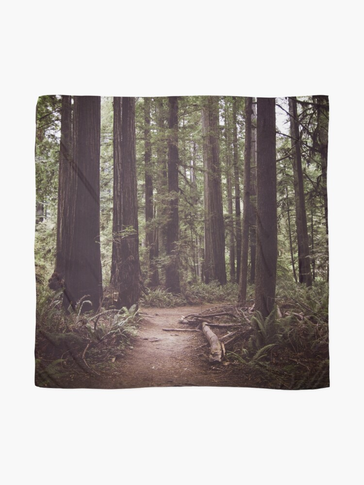 Alternate view of Redwood Forest Scarf