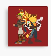 Playstation Duo Teams! Canvas Print