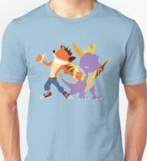 Crash and Spyro Unisex T-Shirt