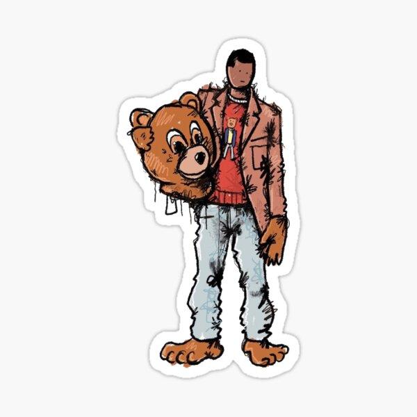 Kanye West sticker Sticker