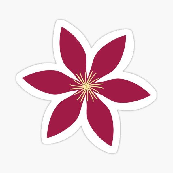 Clematis: Flowers Sticker