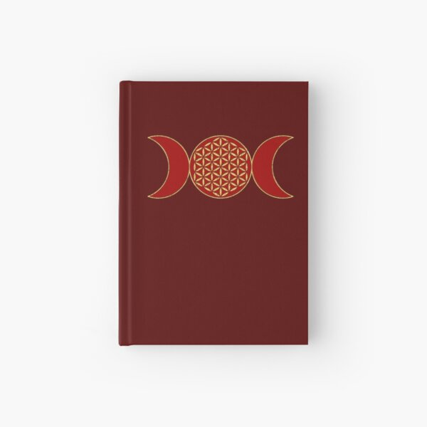 Magic Triple Moon - Geistblume des Lebens 1 Notizbuch