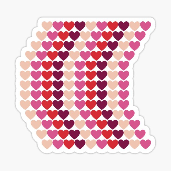 Heart Twist Sticker