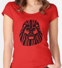 Darth Mufasa (Lion King + Star Wars) Women's Fitted Scoop T-Shirt
