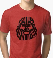 Darth Mufasa (Lion King + Star Wars) Tri-blend T-Shirt