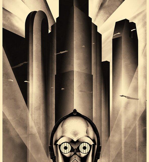 Metropolis meets Coruscant by luminauts