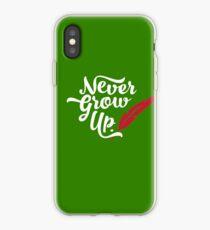 Peter Pan - Never Grow Up. iPhone Case