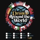 Drink Around the World - EPCOT Checklist v1 by tonysimonetta