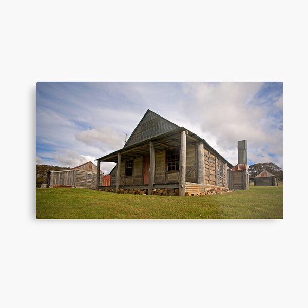 Coolamine Homestead, Kosciuszko National Park Metal Print