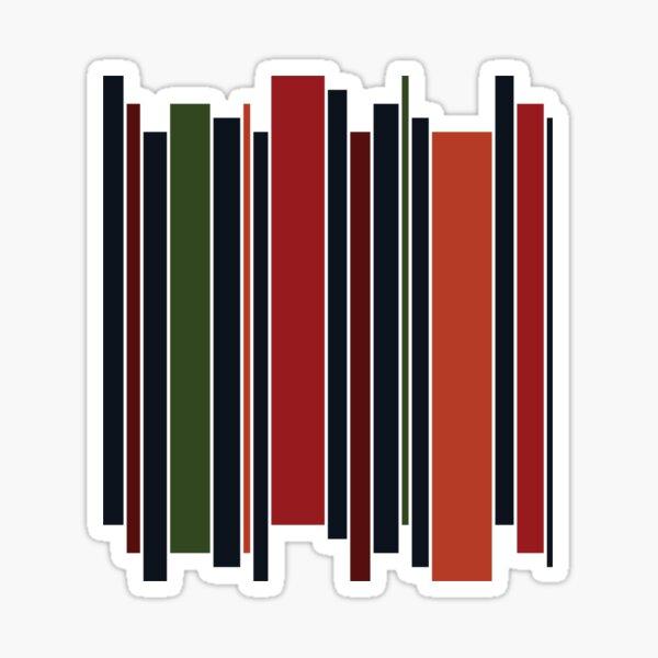 Navy Stripe  Sticker