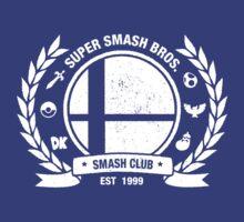 Smash Club Ver. 2 (White) | Unisex T-Shirt