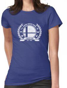 Smash Club Ver. 2 (White) Womens Fitted T-Shirt