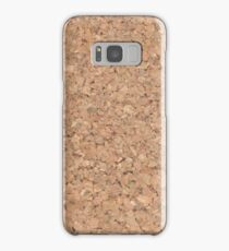 Cork Samsung Galaxy Case/Skin