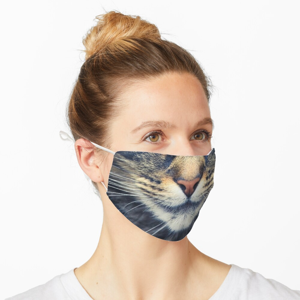 Realistic Cat Face Mask