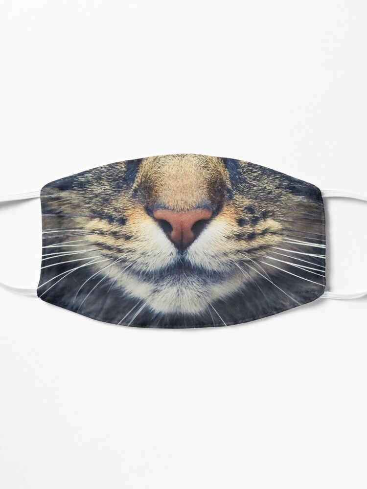 Alternate view of Realistic Cat Face Mask