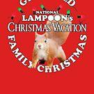 National Lampoon's - Weißer Text-Eichhörnchen-Angriff .. !! von Candywrap Design