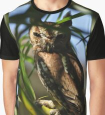 Eastern Screech Owl, As Is Graphic T-Shirt