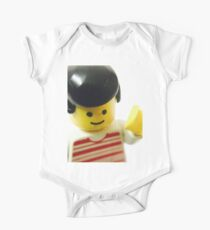 Retro Lego Minifigure One Piece - Short Sleeve