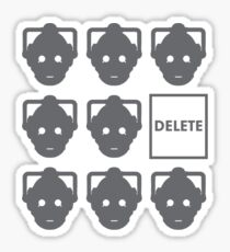 cybermen Sticker