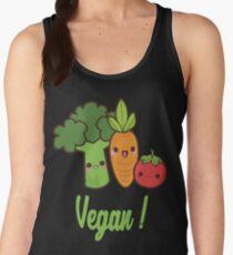 Go vegan <3 Women's Tank Top