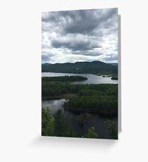 Saint-Donat, Québec, Canada Greeting Card