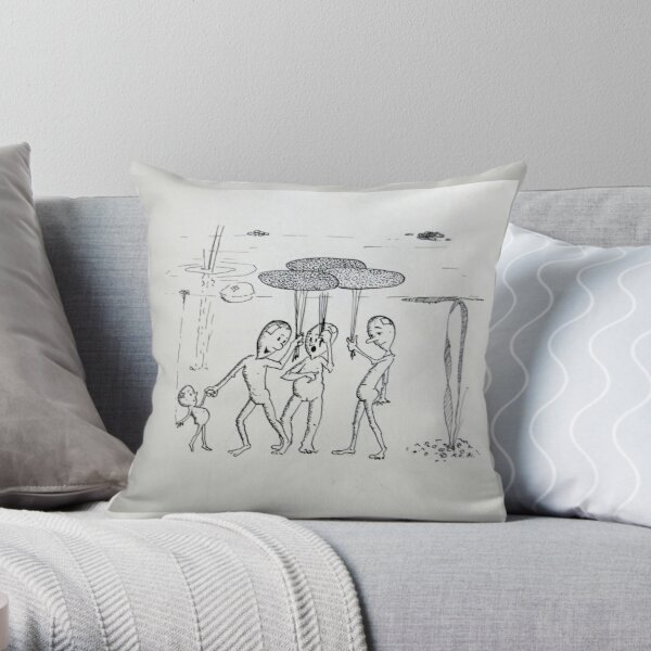Kroos Throw Pillow