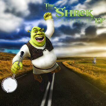 Shrek Poster by LanzaManza