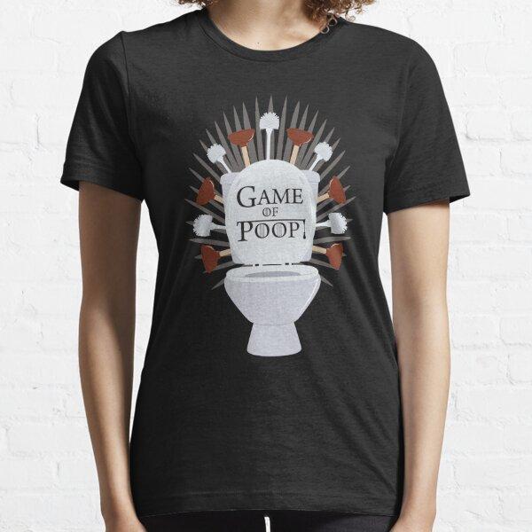 Parodie Game of Poop T-shirt essentiel