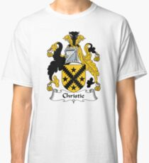 Christie Coat of Arms / Christie Family Crest Classic T-Shirt