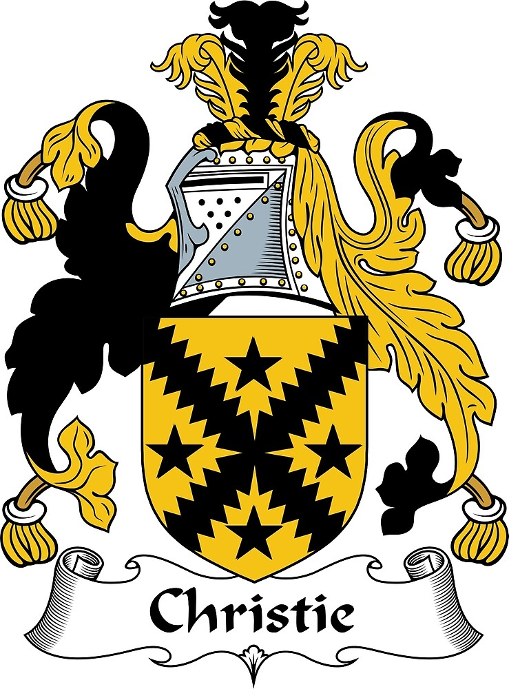 Quot Christie Coat Of Arms Christie Family Crest Quot By