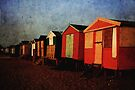 Beach Huts, Whitstable by Ursula Rodgers